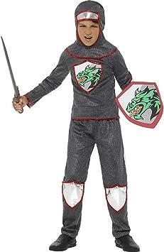 Halloweenia Disfraz de Caballero Medieval para niños Parte ...