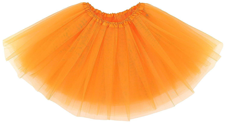 WYR Adult Womens Classic 3-Layered Tulle Tutu Ballet Skirts Ruffle Pettiskirt,Teen,Girls