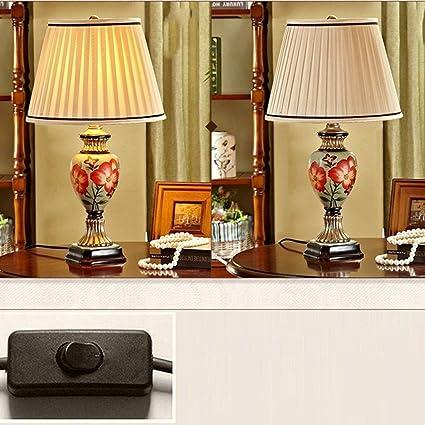 SLEVE Salón de Dormitorio con lámpara Moderna con Base de Oro ...