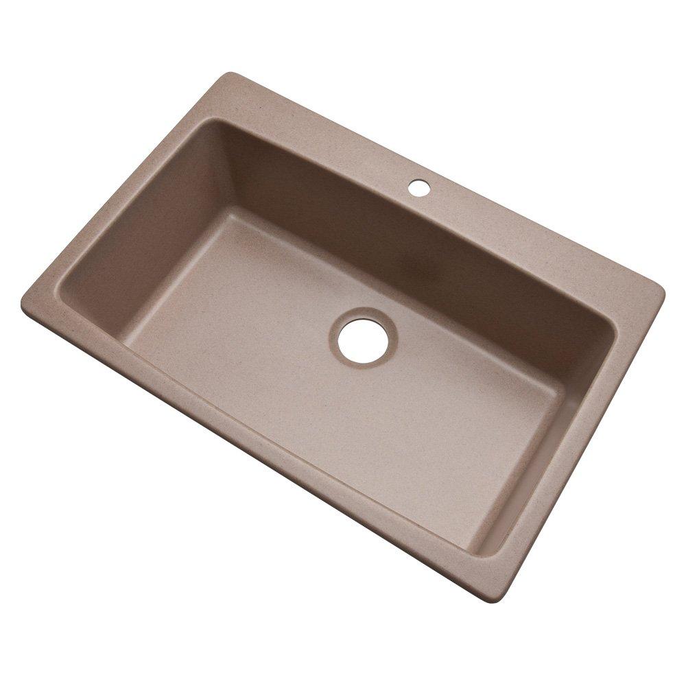 Dekor sinks 70199q northampton composite granite single bowl ...