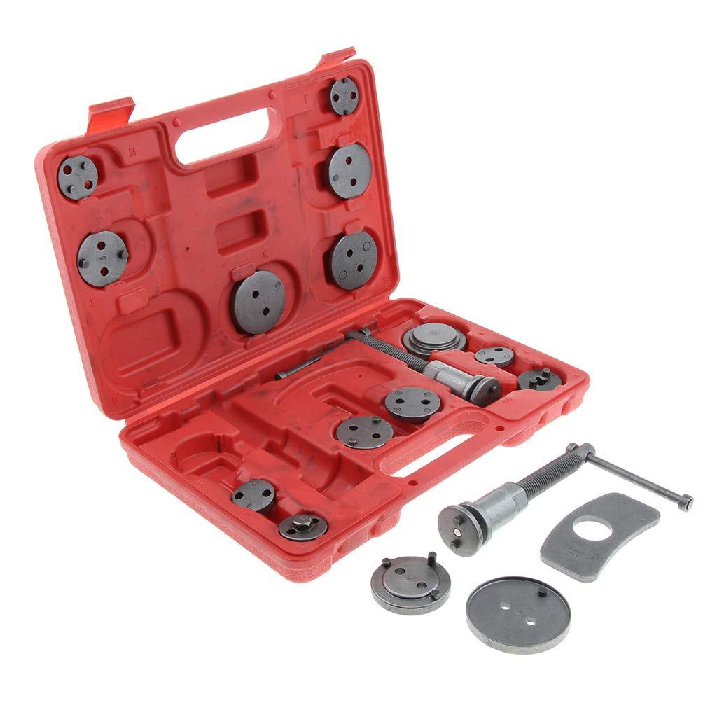 B Blesiya 18pcs Universal Disc Brake Caliper Piston Pad Car Auto Wind Back Hand Tool Stainless Steel Durable by B Blesiya (Image #8)