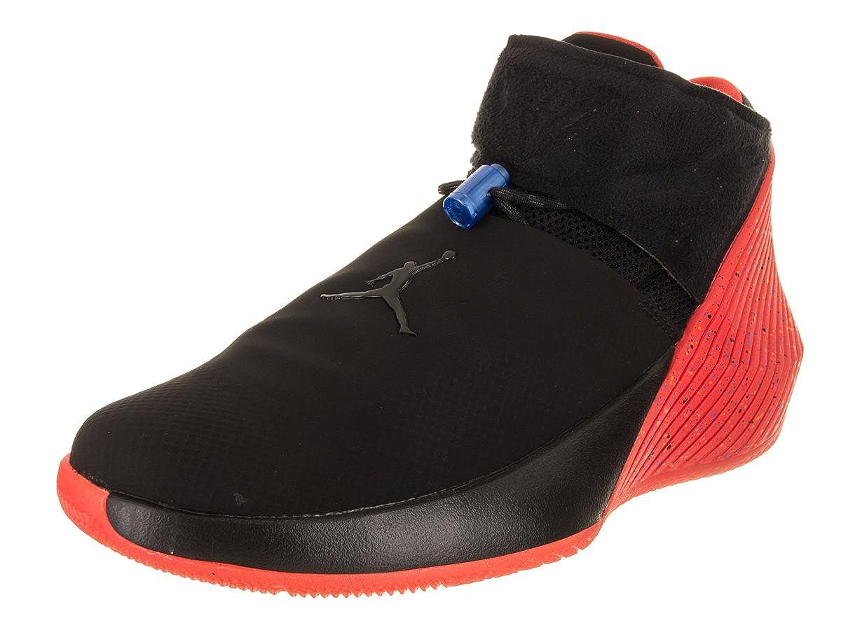 Noir noir-signal bleu Jordan Nike pour Homme Pourquoi NE Pas Zer0.1 Basketball Chaussure 43.5 EU