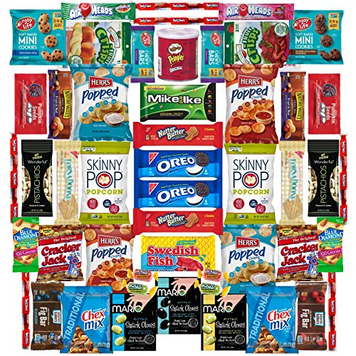 Vegan Snack Assortment By Skyline Snack Company | Food, Fun, Variety | Ship Care Package To Friends and Family, Military, College -