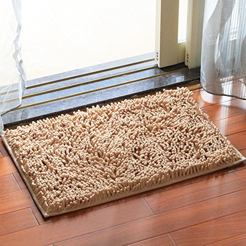 Household mats bedroom carpet mats bathroom mats toilet water-absorbing mat -4565cm G by ZYZX