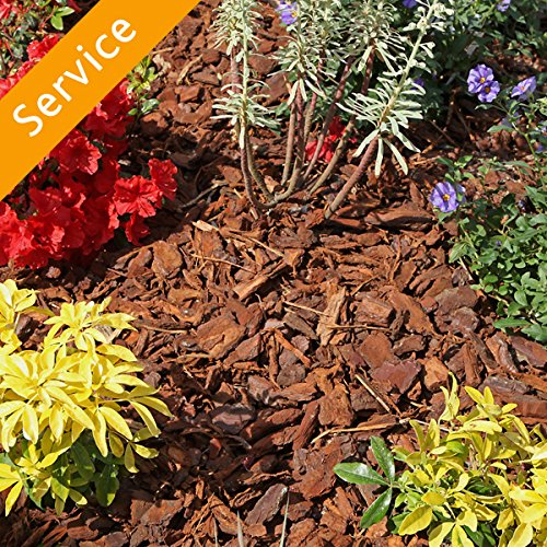 Mulch Delivery and Installation - 2 Cu Yds, Medium