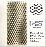 100X200X1.2mm Super Titanium Mesh Filter Screen for Electrolysis 3.53X7.05X0.04in,5pcs/Packaging