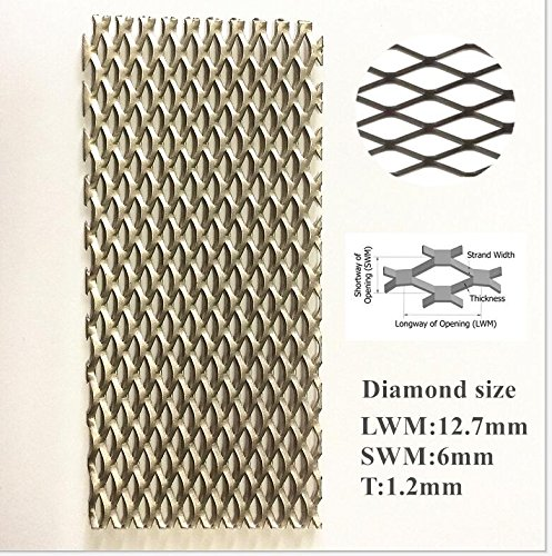 200X500X1.2mm Super Titanium Mesh Filter Screen for Electrolysis 7.05X17.64X0.04in,2pcs//Packaging
