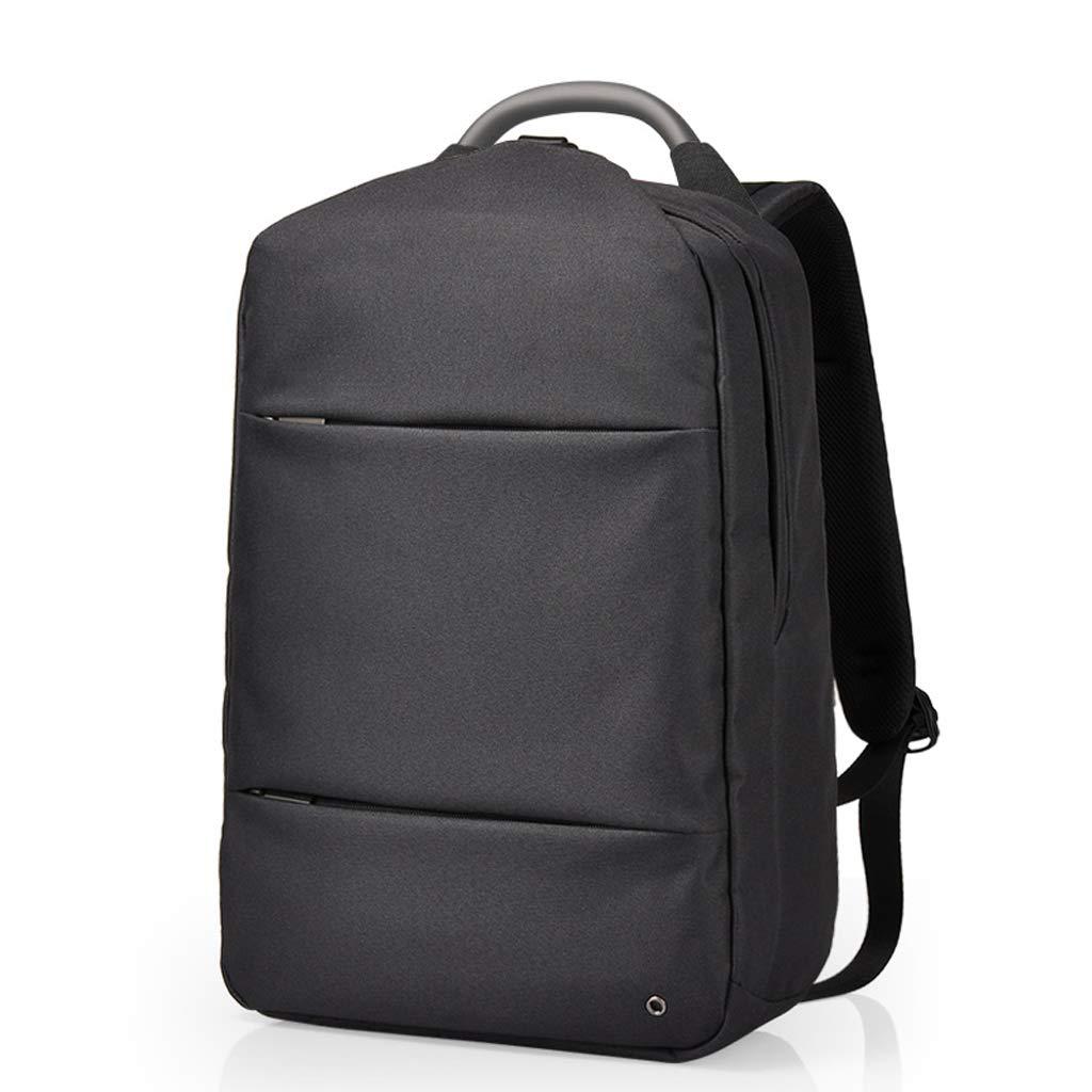 バックパック 盗難防止 バックパック ショルダーバッグ メンズ ビジネス コンピューター バッグ 旅行 バッグ 大学 学生 バッグ 女性 バックパック (カラー:ブラック、サイズ:16.5インチ)   B07H3QLZP7