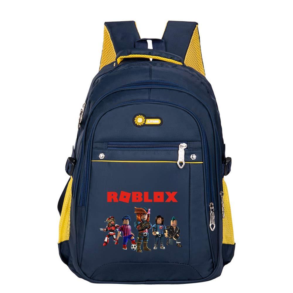 Roblox Mochila Casual Bolso Escolar Multifuncional para niños de Estilo británico Bolsa de jardín de Infantes Mochila Bolsa Clase de...