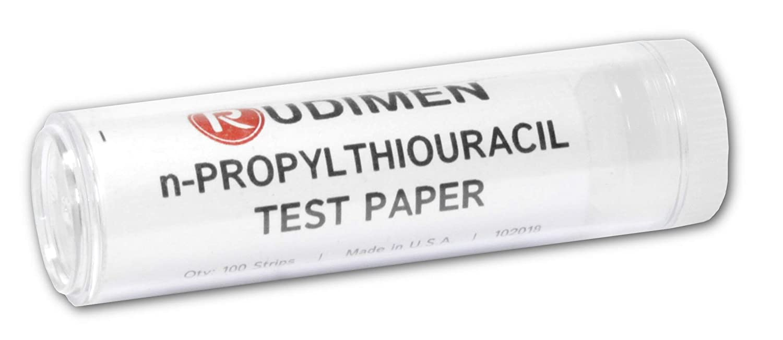 Rudimen N-Propylthiouracil Test Strips (Pack of 100 N-Propylthiouracil Strips) - Perfect for Genetic Taste Testing