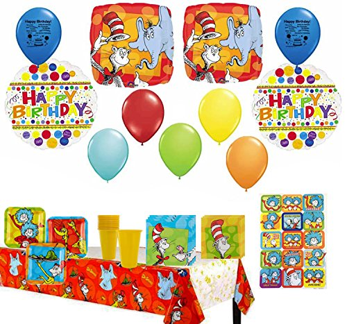 Seuss Birthday Dr Decorations (Dr. Seuss Party Supply and Balloon Decoration)