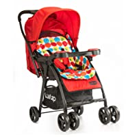 Luvlap Joy Baby Stroller (Red)