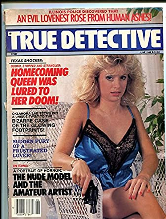 TRUE DETECTIVE-JUNE 1989-VG/FN-SPICY-MURDER-RAPE