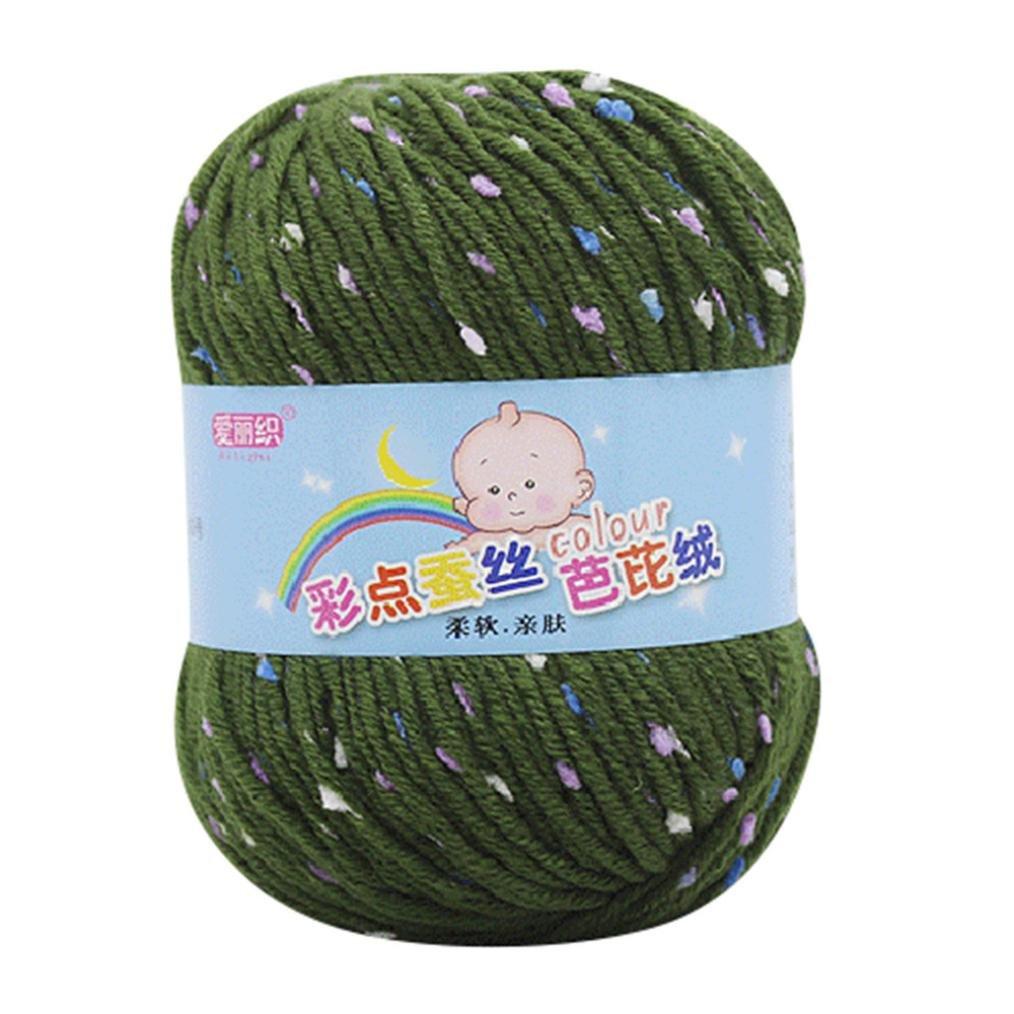 Clearance Sale! Yarns for Knitting Crochet Craft, Iuhan Super Soft Hand Knitting Knicker Yarn Crochet Soft Scarf Sweater Hat Yarn Knitwear Wool, 11 Skeins Mini Yarn (I) Iuhan ®