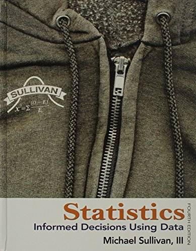 Statistics, MyStatLab, and Student's Solutions Manual