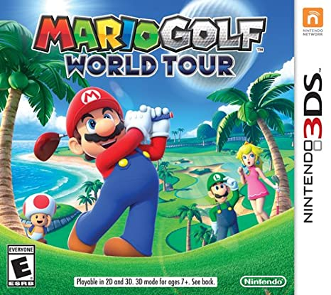 Amazon Com Mario Golf World Tour Nintendo 3ds Nintendo Of America Video Games