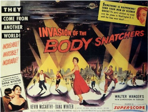 Invasion of The Body Snatchers Poster Movie B Kevin McCarthy Dana Wynter Carolyn Jones
