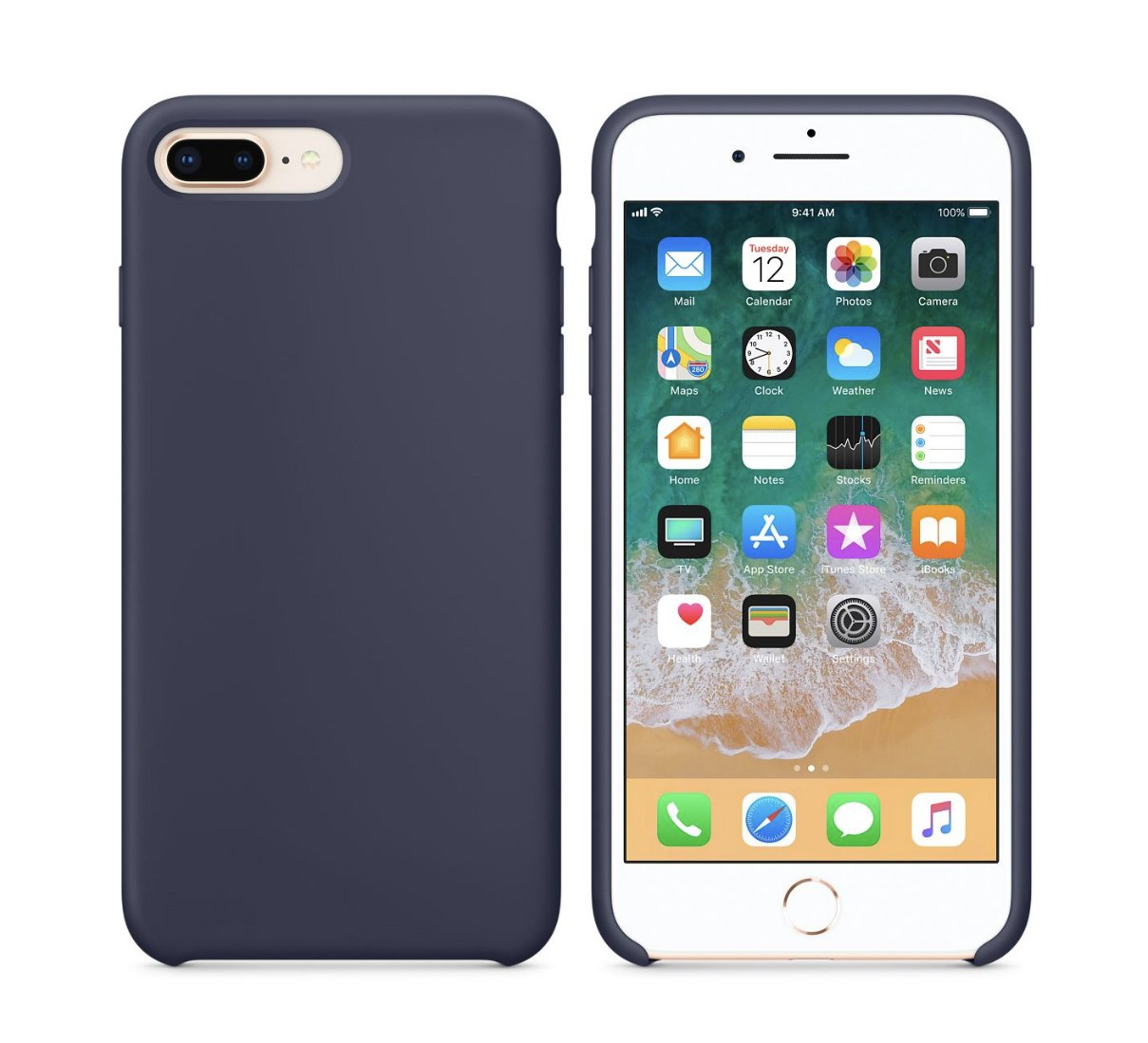 apple rubber case iphone 7