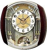 SEIKO CLOCK ( Seiko clock ) wall clock wave Symphony radio clock twin -Pas contraption RE564H