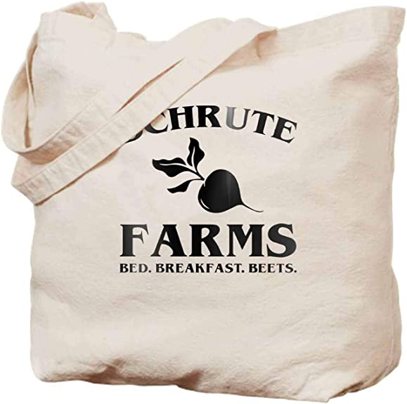 Schrute Farms Beets Womens Canvas Hobo Handbags Shoulder Bag Tote Bag