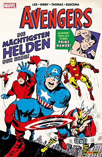 Marvel Klassiker: Avengers Vol. 1 (German Edition)