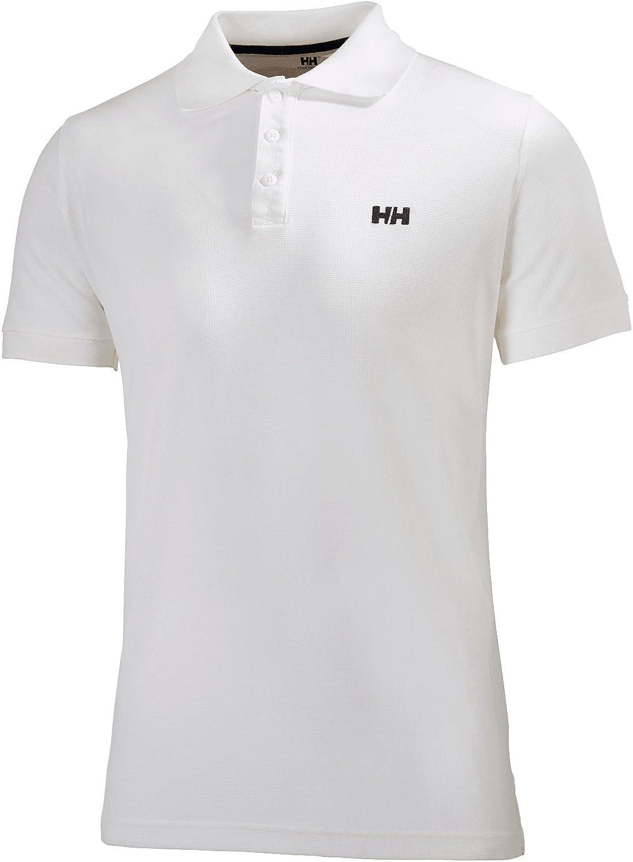 222 Alert Red X-Large Helly Hansen Mens Riftline Quick Dry Short-Sleeve Performance Polo Shirt