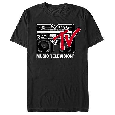 37959aa83 Fifth Sun MTV Men's Boombox Logo T-Shirt | Amazon.com