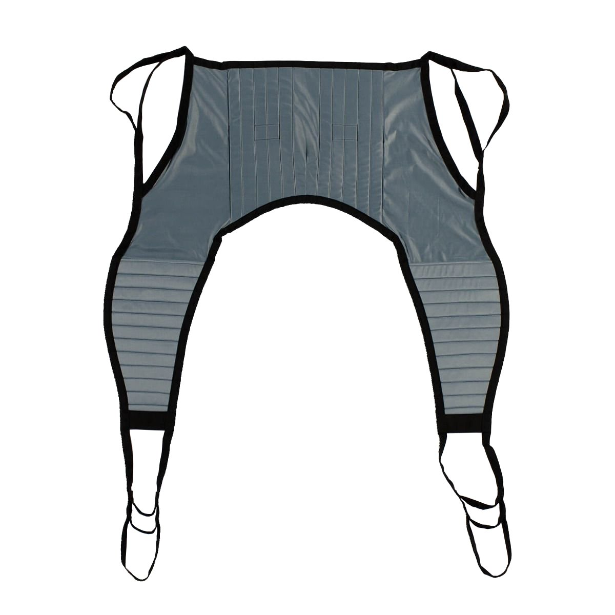 Padded U-Sling without Head Support, Universal Patient Lift Sling, Size Medium, 600lb Capacity
