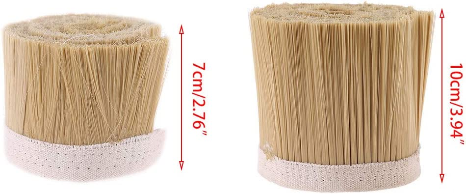 BIlinli 70mm//100mm Flexible Nylon Strip Brush for Clean Vacuum Cleaner Engraving Machine