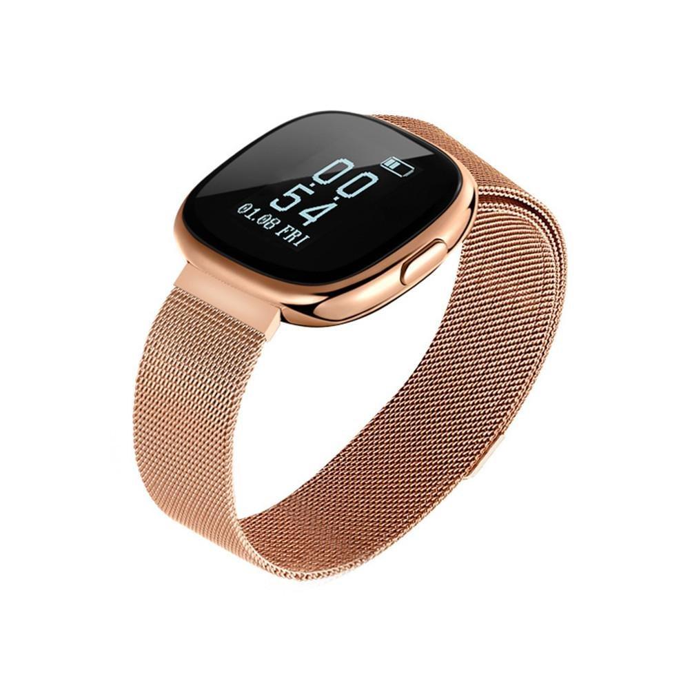 allgreen Smart Bracelet ip67 Waterproof, Smart Watch with Blood Pressure Heart Rate Sleep Pedometer Monitor Smart Wristband Bracelet for Bluetooth Andriod ...