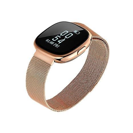 332PageAnn Pulsera Inteligente Deportiva Y Monitor, C2 IP67 Smartwatch con Pulsómetro, Monitor De Calorías