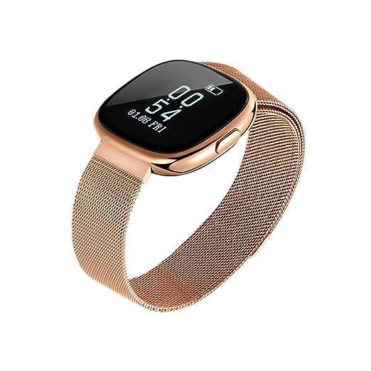 Reloj Inteligente Smartwatch con Bluetooth Fitness Tracker Pulsera Actividad Inteligente Podómetro Reloj Deportivo con Podómetro, Sueño, Calorías Samsung ...