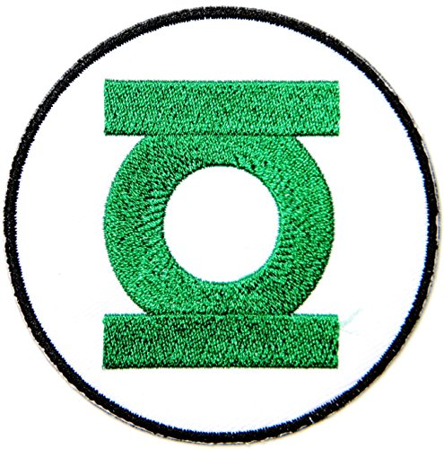 [Green Lantern Superhero Marvel Avengers Cartoon Comics Movie Patch Sew Iron on Embroidered Applique Collection DIY By PatchPrimum] (Superhero Comics Flag Banner Kit)