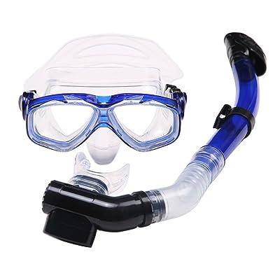 Rowentauk Masque de plongée imperméable anti-buée de lunettes de natation pour des adultes