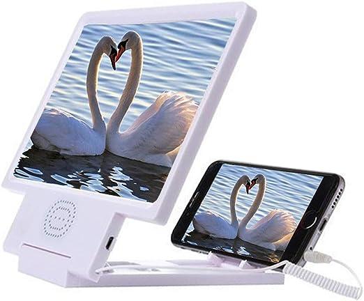 SHOW 8.5 Inch teléfono móvil Lupa Pantalla 3D con Altavoz,HD ...