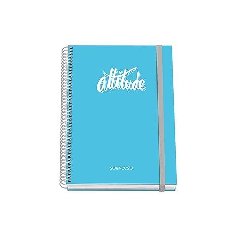 Agenda Escolar A5 - Dohe - Pastel - Azul: Amazon.es: Oficina ...