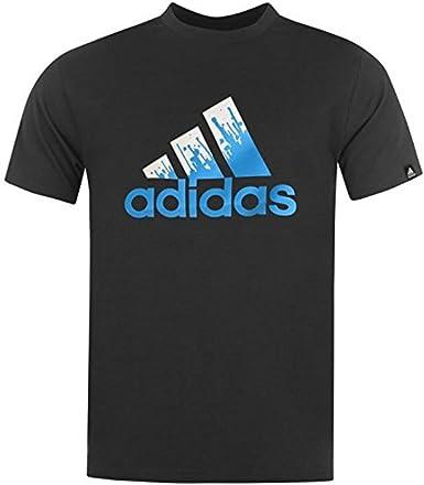 Importancia Fanático diario  adidas Para Hombre Pintura Para Logo T-Shirt Algodón Costura Para Camisetas  de Mujer de Manga Corta Camiseta Para Hombre Cuello Redondo: Amazon.es:  Ropa y accesorios