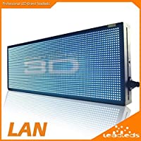 Leadleds 30 X 11 LED Sign Full Color Video Display Screen Billboard - Fast Program By Ethernet Cable