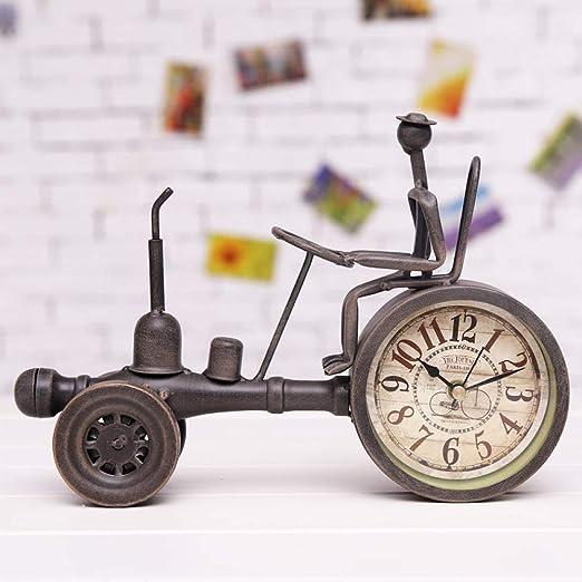 LJXLXY Decoración Manualidades Vintage Tractor de Metal Modelo ...
