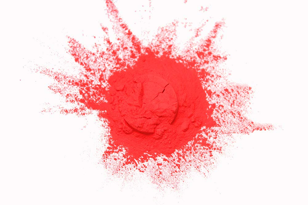 Glow in The Dark Powder Daytime Visible Red Pigment 1 Pound by Glomania