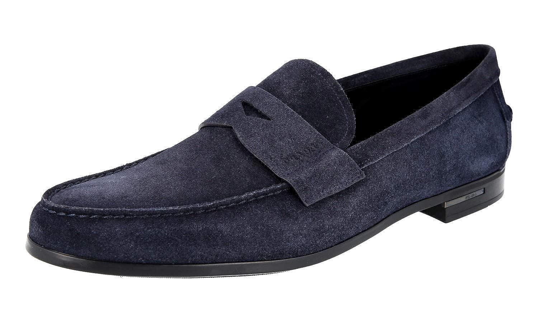 - Prada Herren 2DA119 054 F0008 Leder-Business-Schuhe