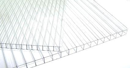 Lastra Policarbonato Alveolare Makrolon 300x105 cm SPESSORE 10 mm 4 ...