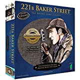 Deluxe 221B Baker Street Sherlock Board Game 200 Intriguing Adventures Deal (Small Image)