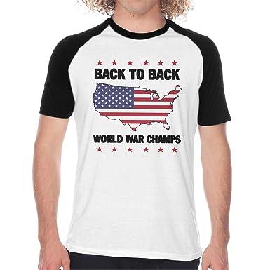 eb87e4c5 Back to Back World War Champs Raglan Shirts,Short Sleeve Baseball T-Shirt,