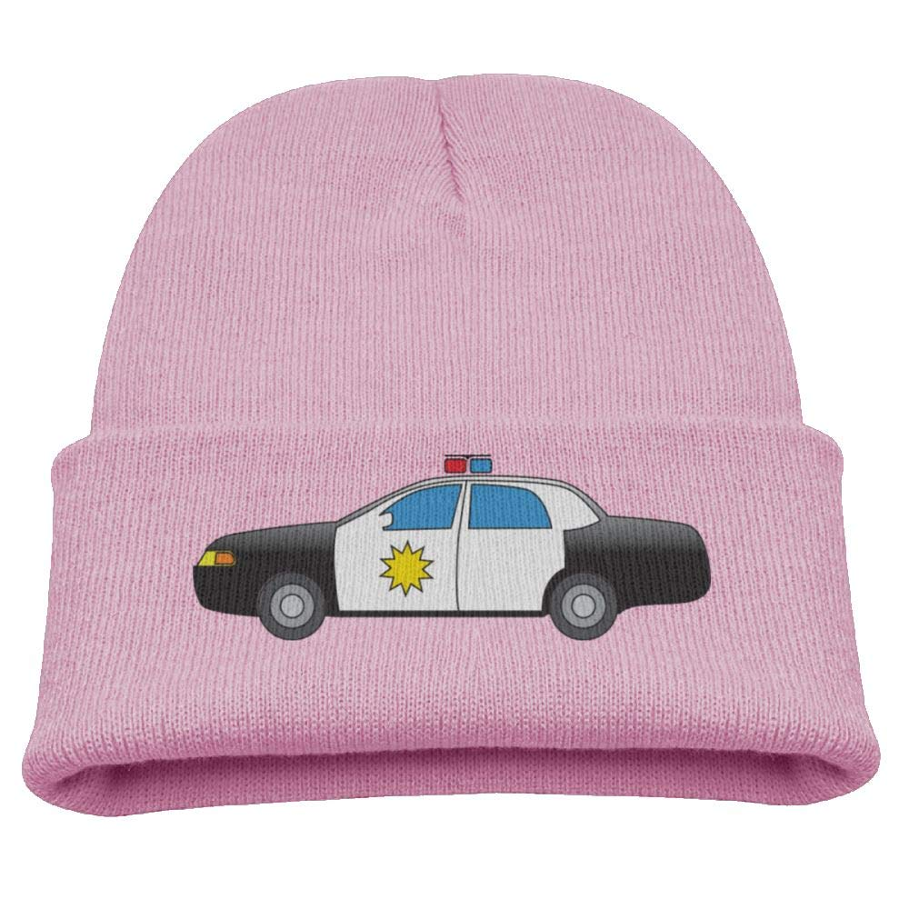 Police Car Website >> Amazon Com Police Car Toddler Beanies Cap Infant Skull Hat