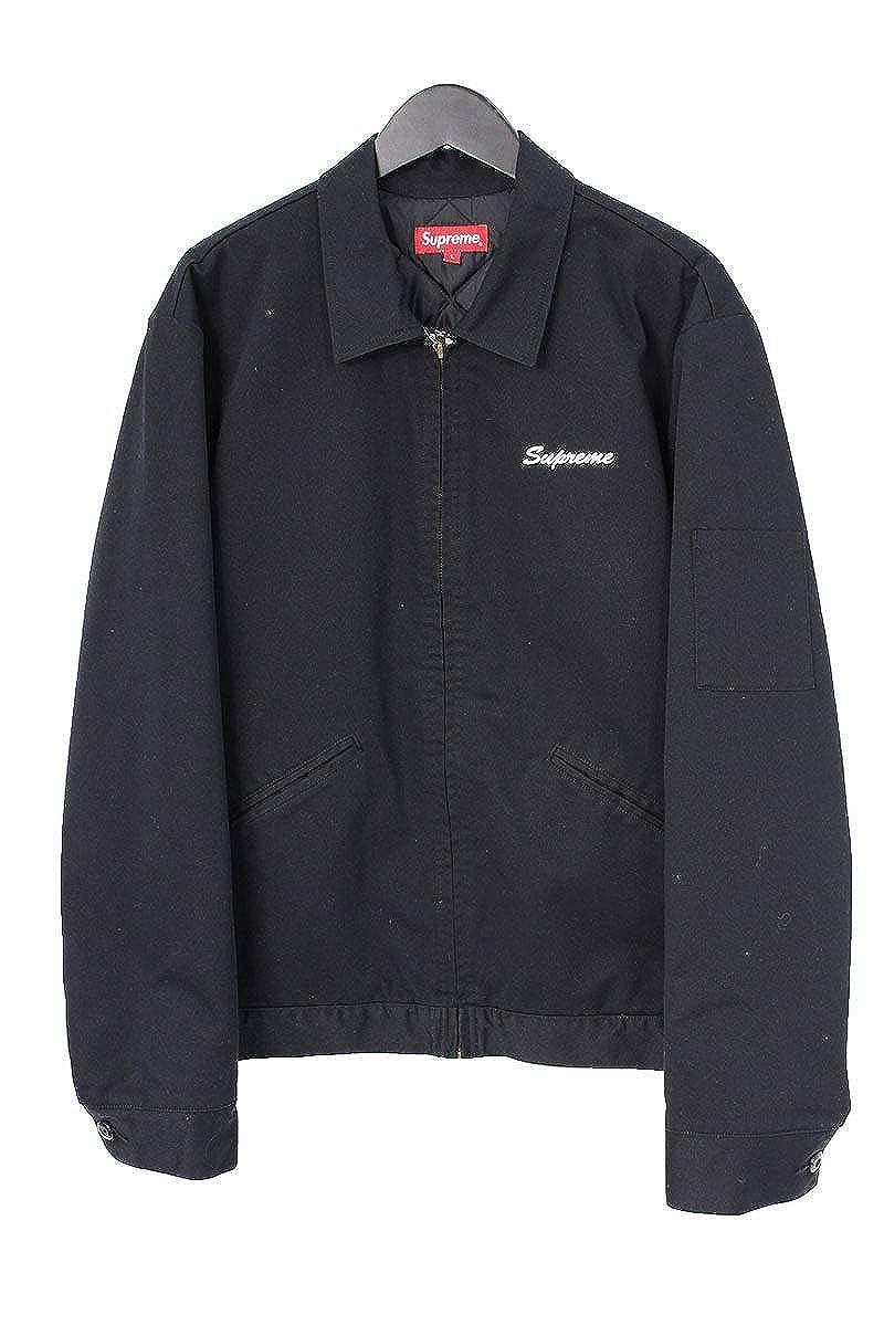 (シュプリーム) SUPREME ×アスプレイ/ASPREY 【16AW】【Playboy Work Jacket】プレイボーイワークジャケット(L/ブラック) 中古 B07DC8358M