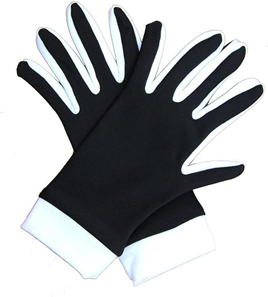 Two-Color IceDress Thermal Figure Skating Gloves