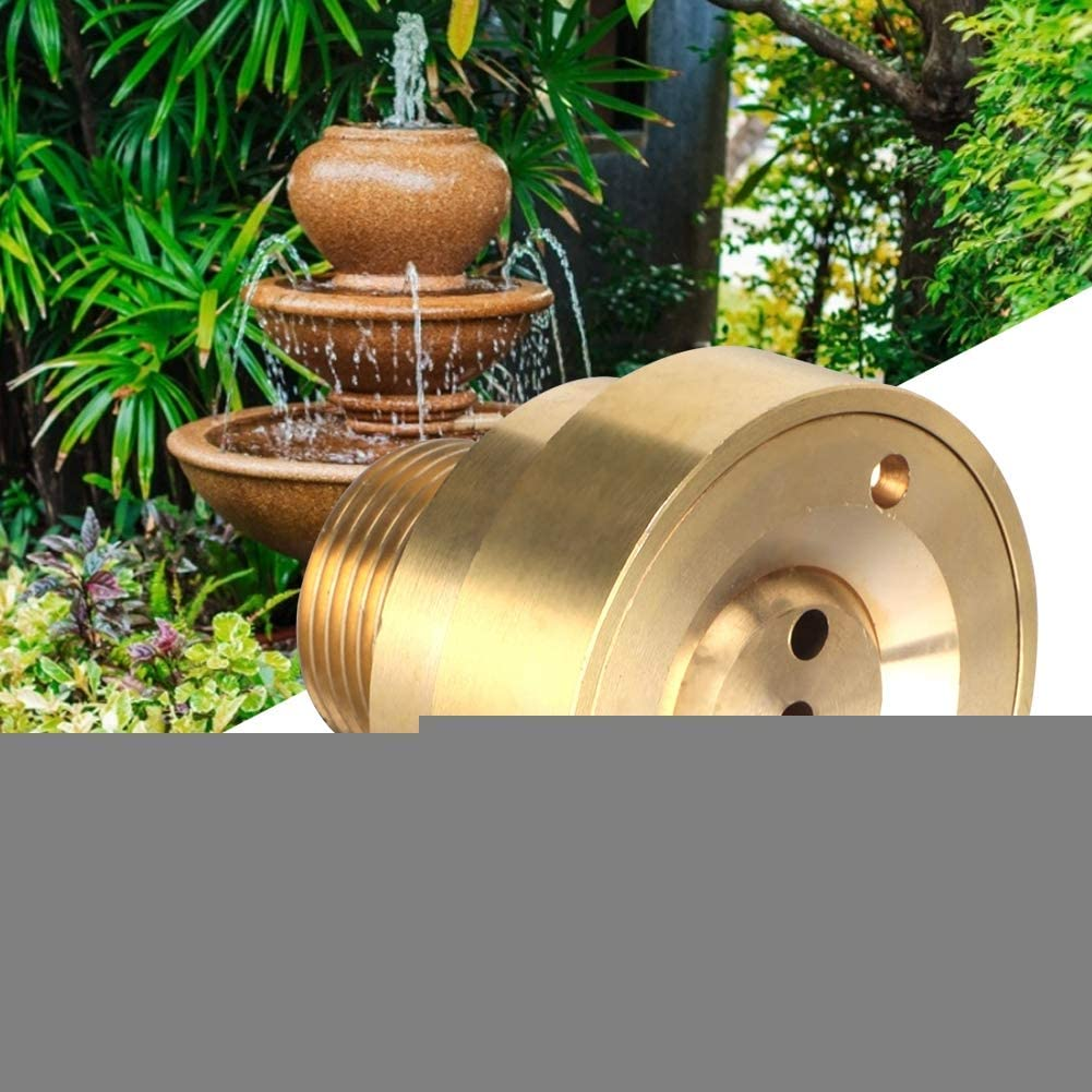 Fountain Jet Solid Brass Commercial Grade Column Jet Nozzle