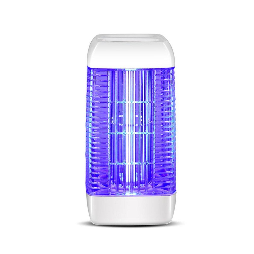 PENGFEI 蚊ランプ電撃殺虫灯 モスキートキラーランプの害虫忌避感電気ショック360°ファミリーレストラン放射線フリーの安全性、白 ベッドルームホテルカンパニー (サイズ さいず : 21.5x21.5x41.4CM) B07DCTFZTQ  21.5x21.5x41.4CM