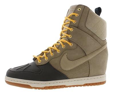 online retailer 00261 b55e7 Nike womens dunk sky hi sneakerboot wedge trainers 616175 200 sneakers shoes  (uk 4 us 6.5 eu 37.5)  Amazon.co.uk  Shoes   Bags